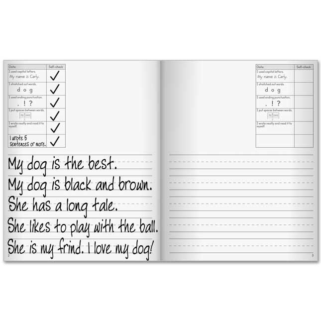 First Self-Assessment Writing Journals