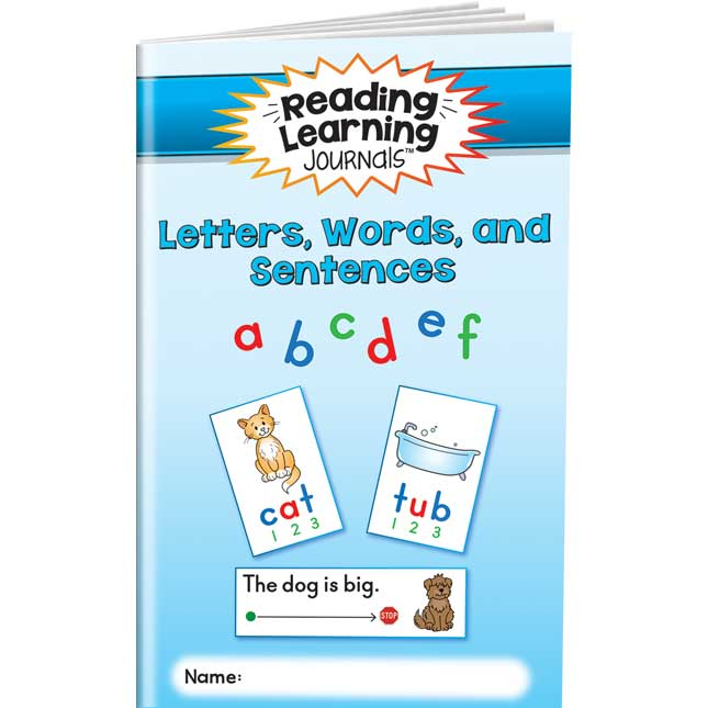 Reading Learning Journals™ - Letters, Words, And Sentences - 24 journals_0