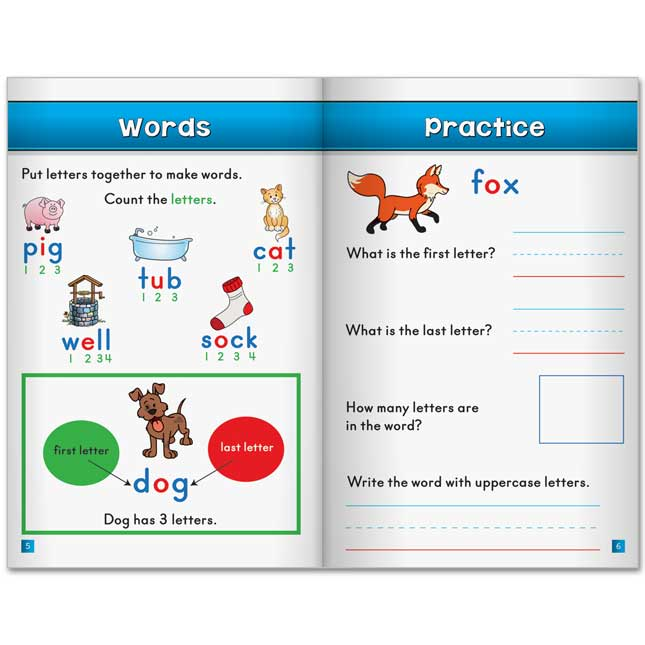 Reading Learning Journals™ - Letters, Words, And Sentences - 24 journals_2