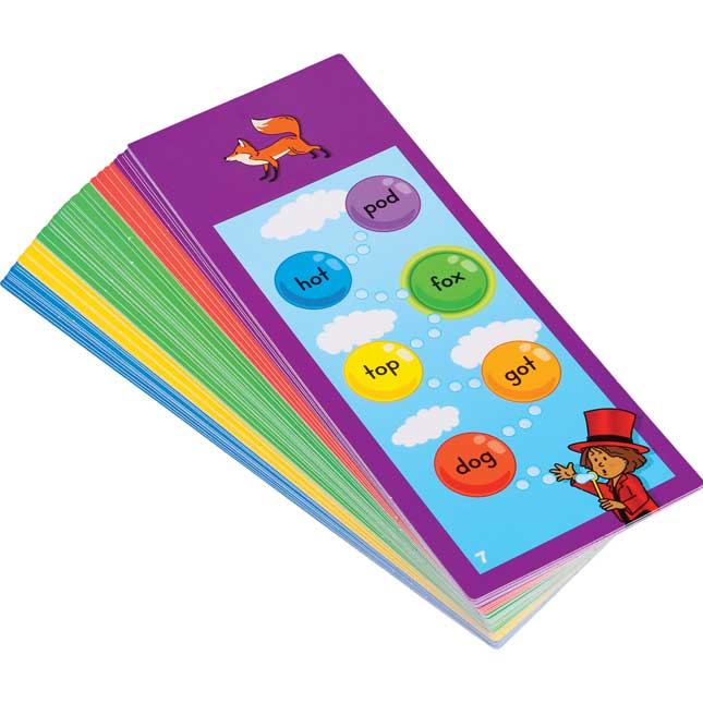 Tap-A-Word™ Phonics Cards Kit - 2 sets of cards
