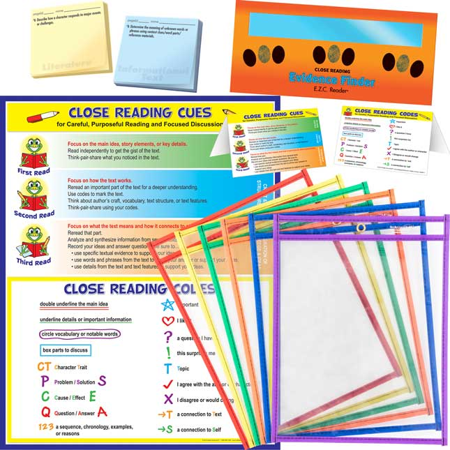 Close Reading For Small Groups Bundle