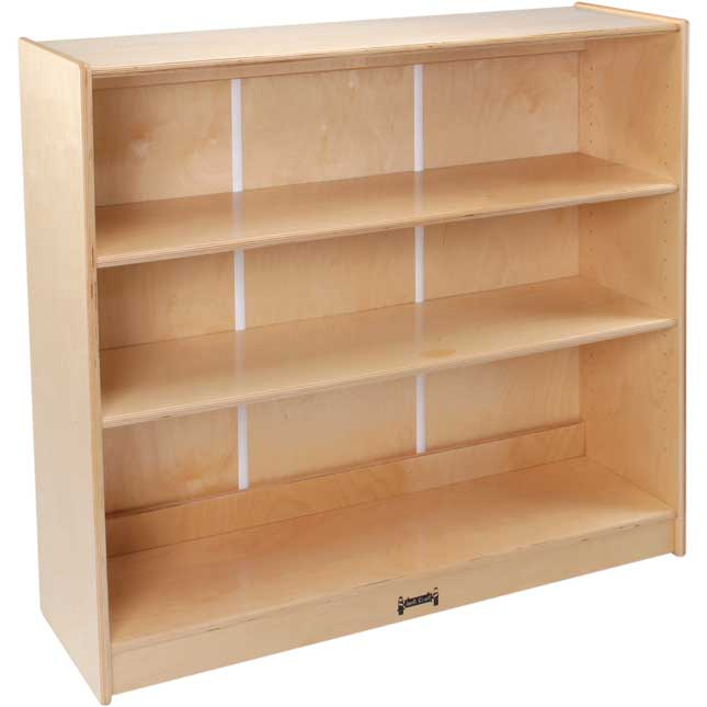 3-Shelf Adjustable Bookcase - 36""