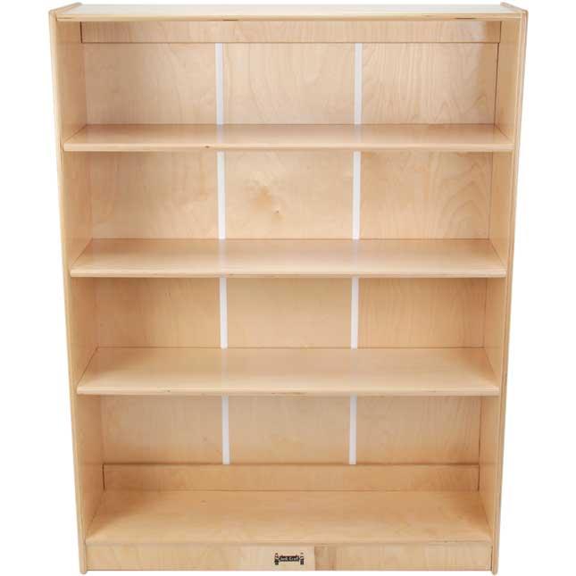 "4-Shelf Adjustable Bookcase - 48"""