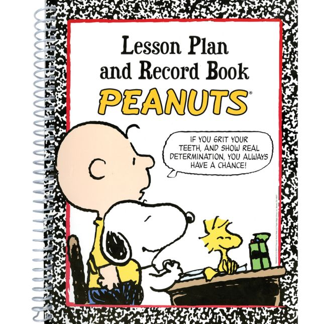 Peanuts® Lesson Plan Book - 1 planning book