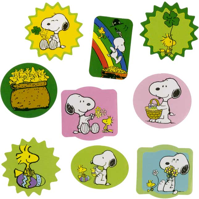 Peanuts Seasons And Holidays Sticker Book