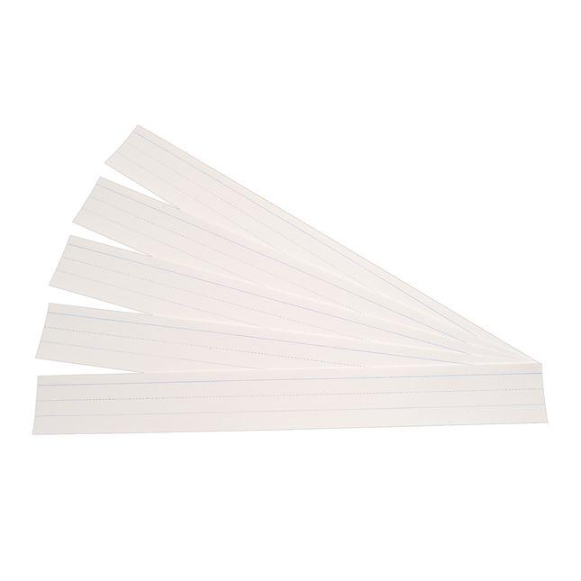 Sentence Strips - White - 100 strips