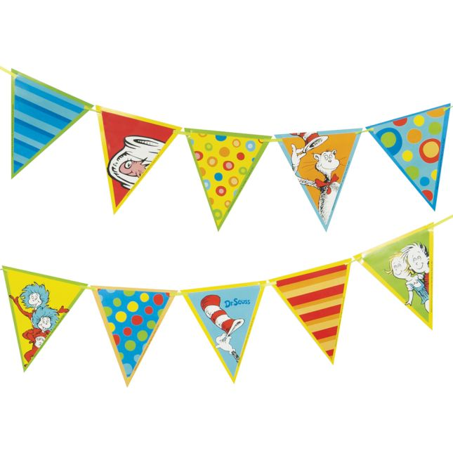 Dr. Seuss™ Pennant Banner