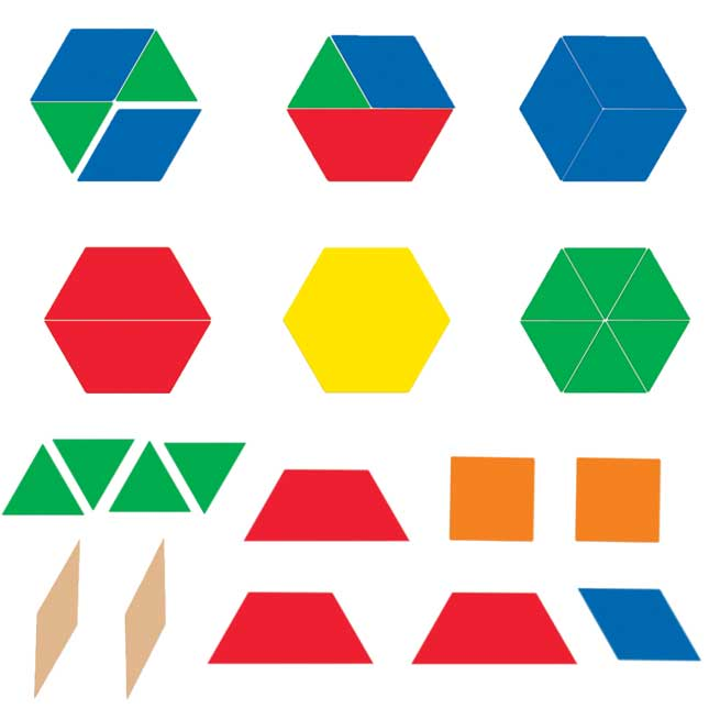 Giant Magnetic Shapes - 47 pieces
