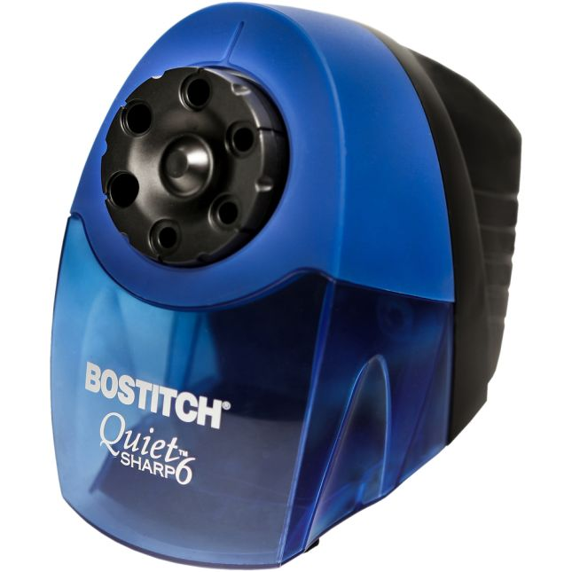 Quiet-Sharp™ Classroom Electric Pencil Sharpener - Blue