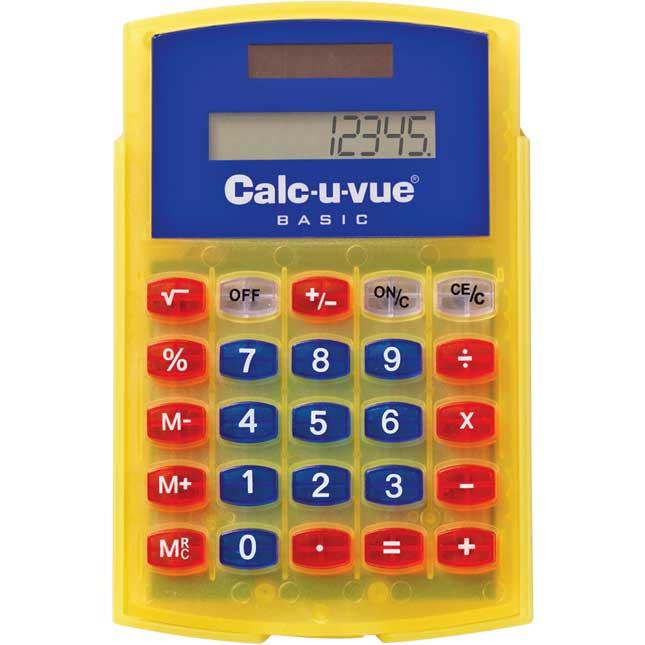 Basic Student Calc-U-Vue® Calculator