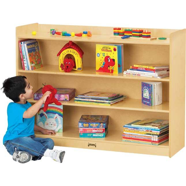 Mobile Bookcase With Lip