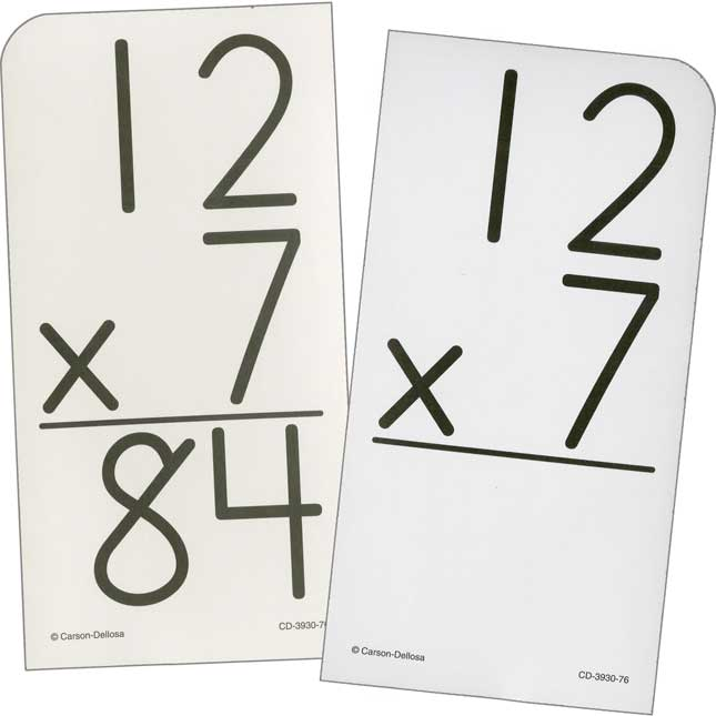 Multiplication 0-12 Flash Cards - 94 flash cards
