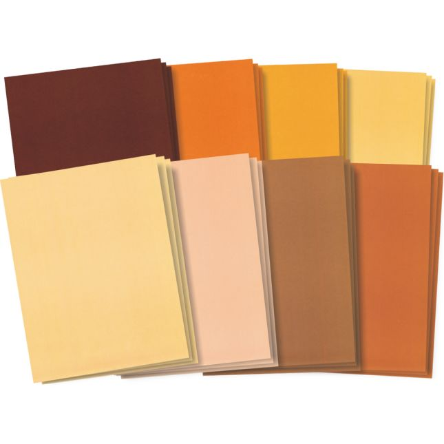 Skin Tone Craft Paper - 48 sheets