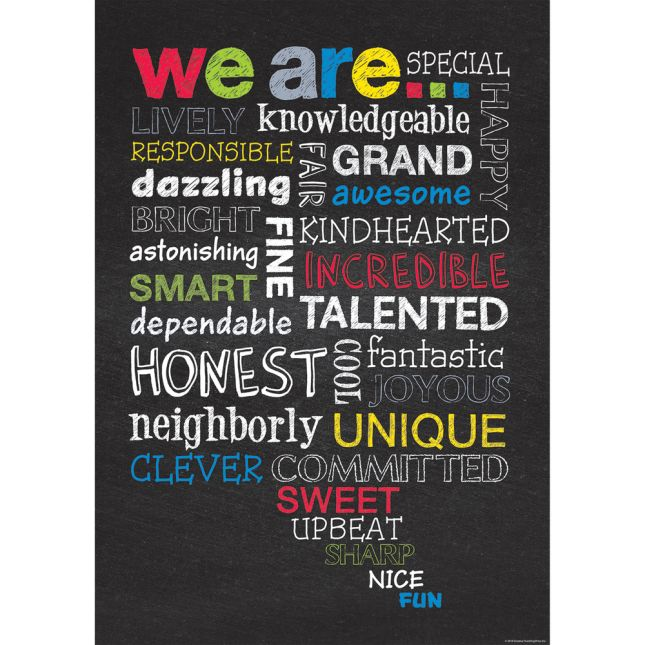 Inspire U Poster - We Are...