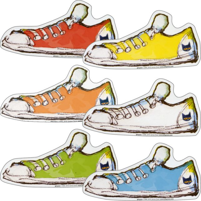 Pete The Cat® Groovy Shoes Accents