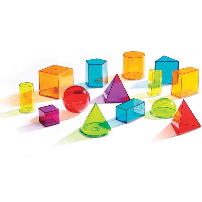 View-Thru® Geometric Solids Set
