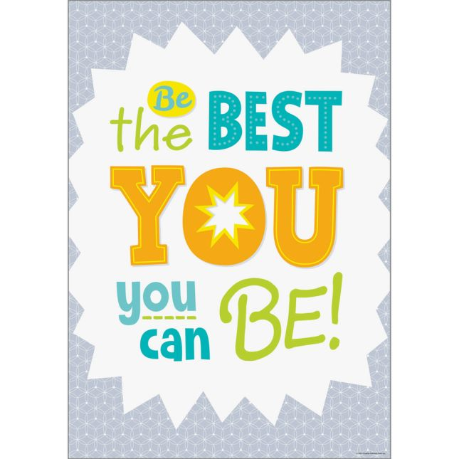 Inspire U Posters - Be The Best Of YOU! - 1 poster