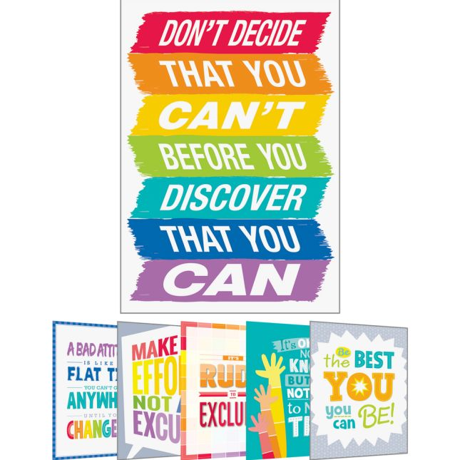 Inspire U Posters - Set 2