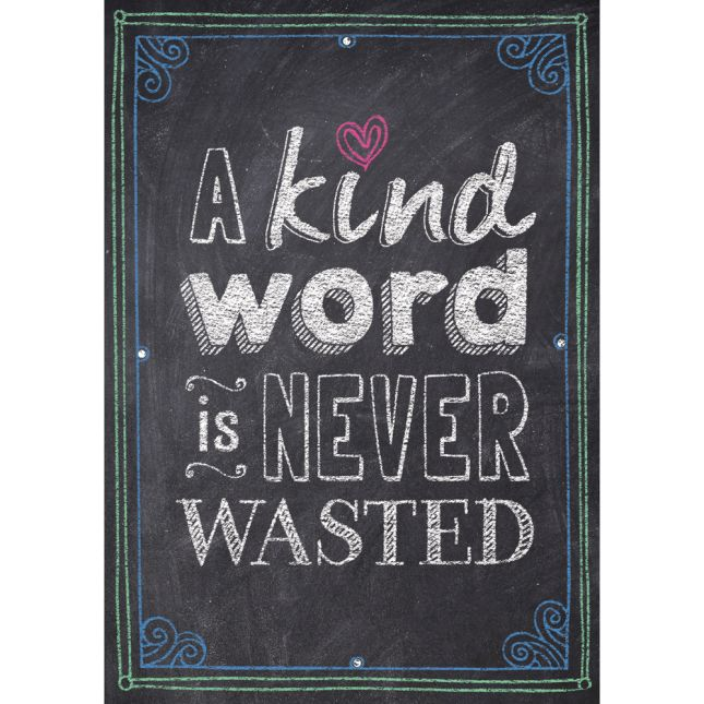 Inspire U Posters - A Kind Word Is Never Wasted