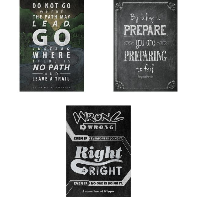 Inspire U Posters - Set 3