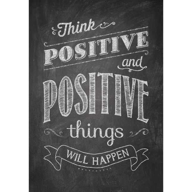 Inspire U Posters - Think Positive And Positive...