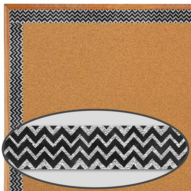 Chalk It Up! Chevron Border Trim