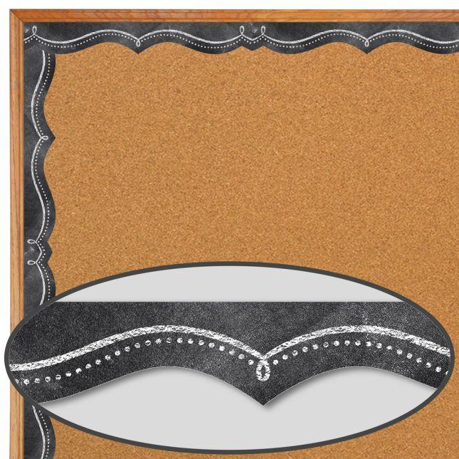 Chalk It Up! Doodle #1 Border Trim - 1 border trim