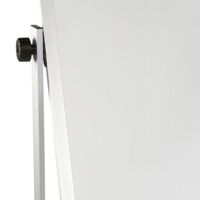 Porcelain Markerboard - 2-Sided, Aluminum Trim