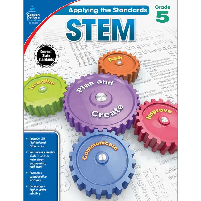 Applying The Standards Book: STEM Grade 5