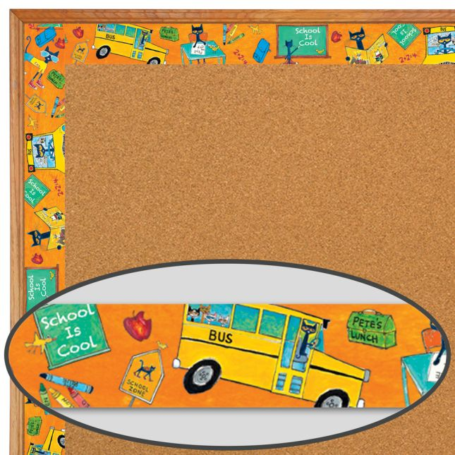 Pete The Cat® School Is Cool Border Trim - 12 pieces