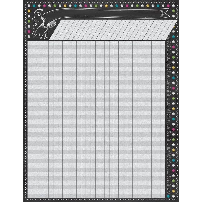 Chalkboard Brights Incentive Chart - 1 chart