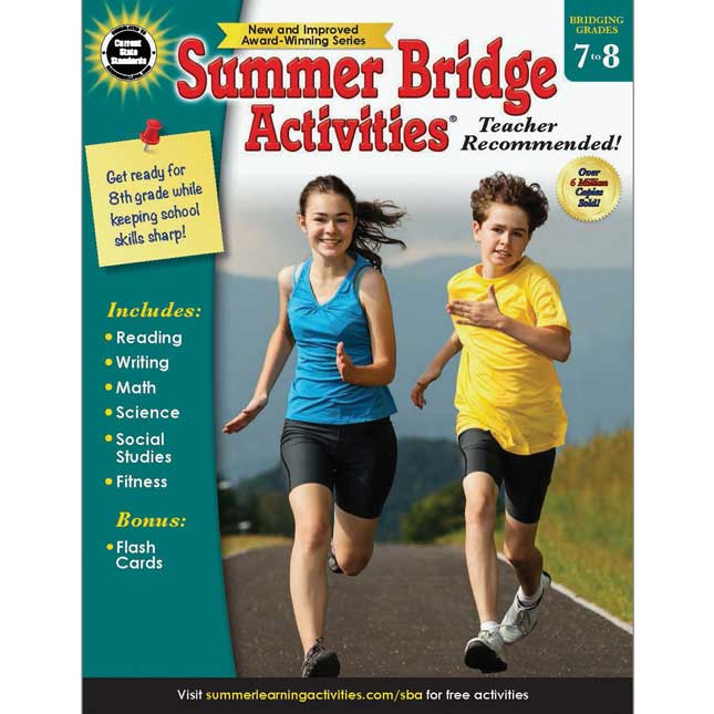 Summer Bridge Activities Book - Grades 7-8
