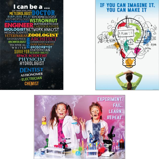 Inspire U Growth Mindset Posters - Set 2