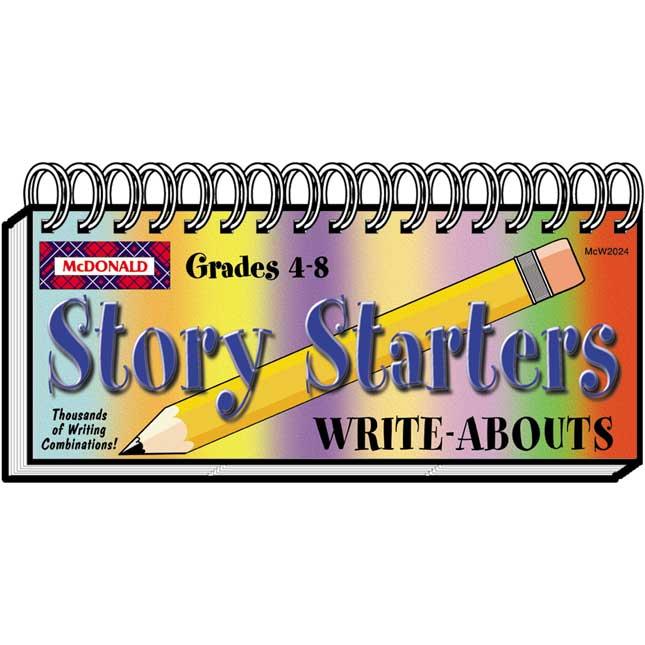 Story Starters Flip Book