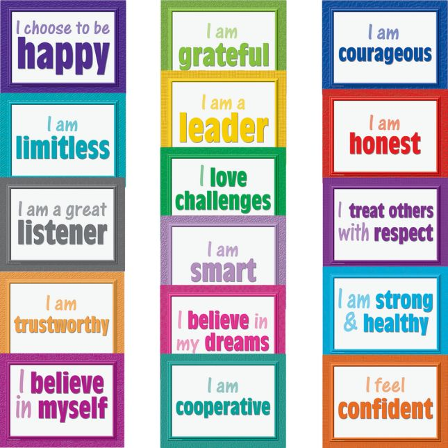 Positive Posters Bulletin Board