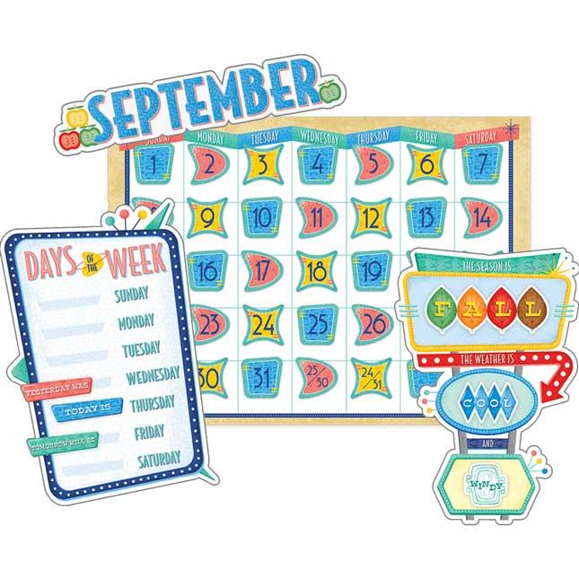 Mid-Century Modern Calendar Set