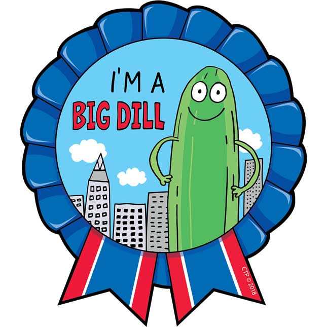 So Much Pun! I'm A Big Dill! Badges