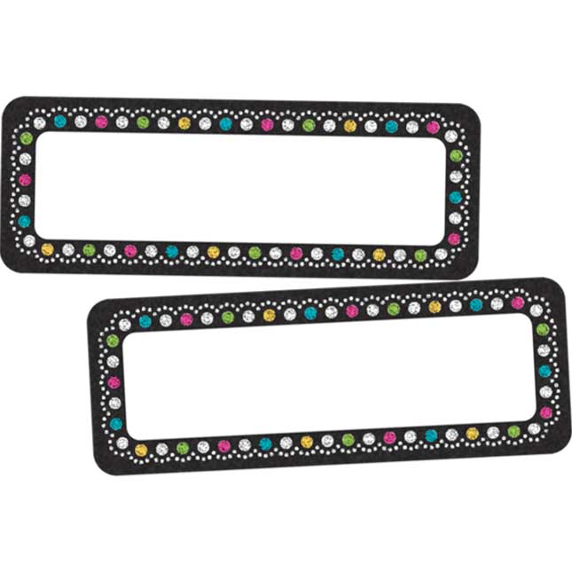 Clingy Thingies® Chalkboard Brights Dry Erase Mini Labels