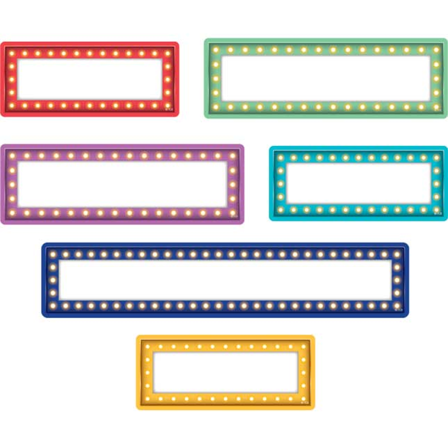 Clingy Thingies® Marquee Dry Erase Labels