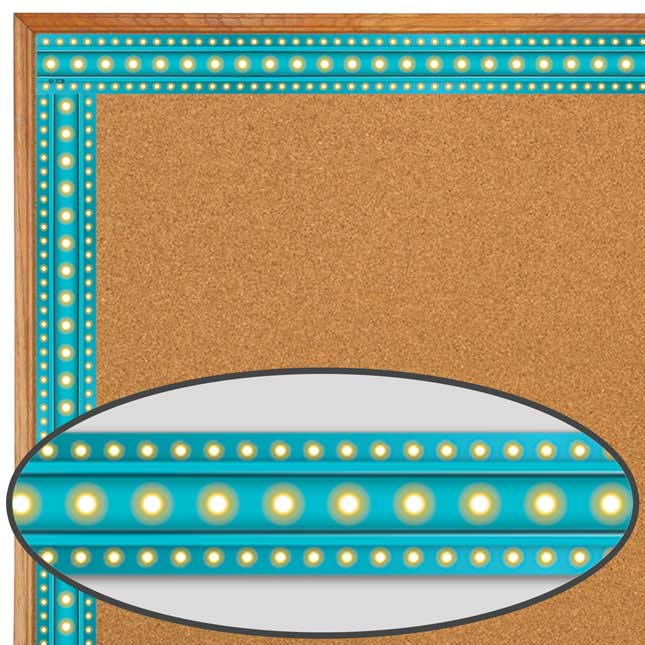Clingy Thingies® Light Blue Marquee Whiteboard Strips