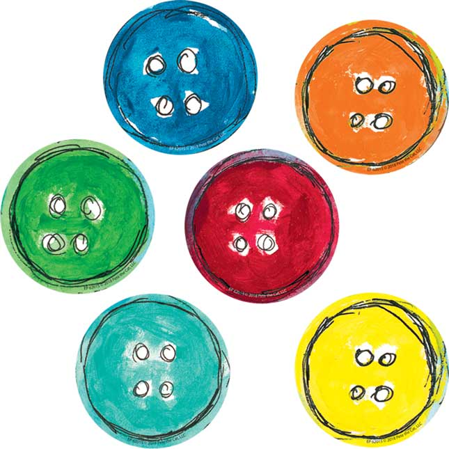 Pete the Cat® Groovy Buttons Magnetic Accents