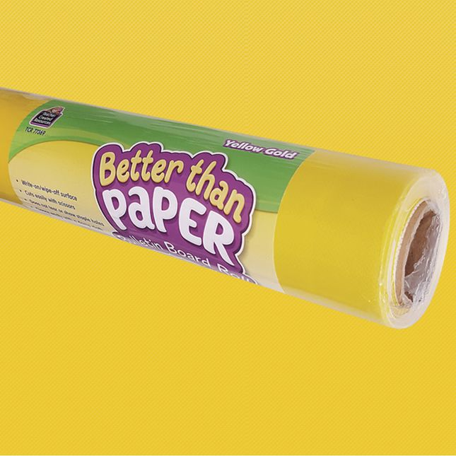 Better Than Paper Bulletin Board Rolls – Yellow