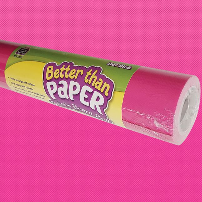 Better Than Paper Bulletin Board Rolls - Pink