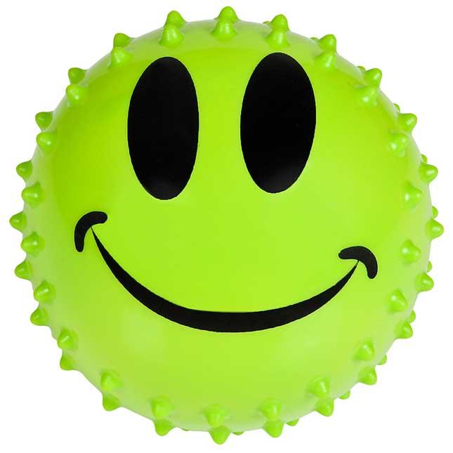 Sensory Smile Face Knobby Balls - 12 balls