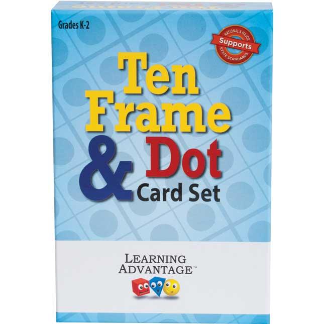 Ten-Frames And Dot Cards Set