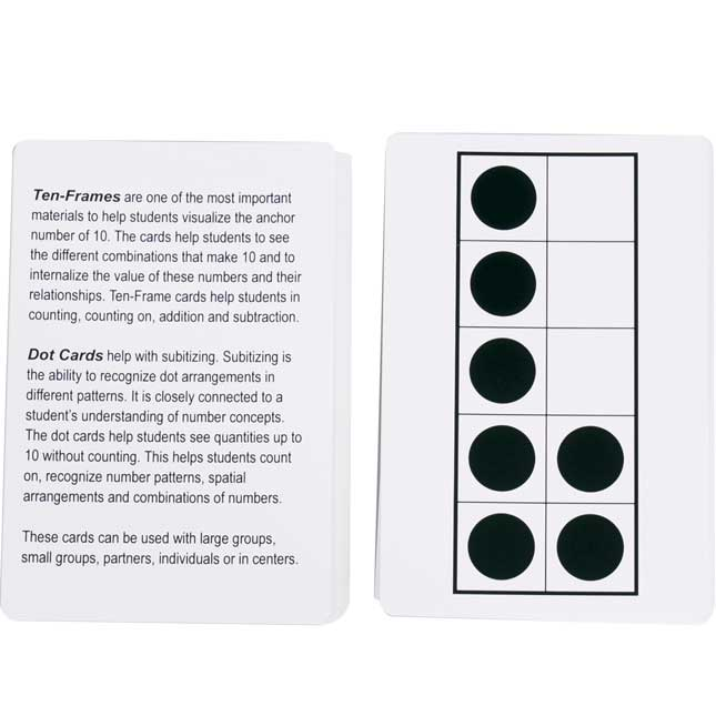 Ten-Frames And Dot Cards Set