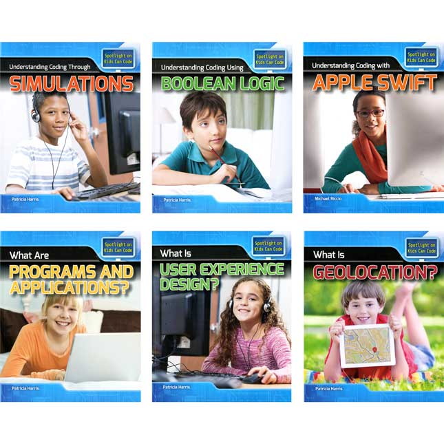 Spotlight On Kids Can Code 18-Book Reader Set