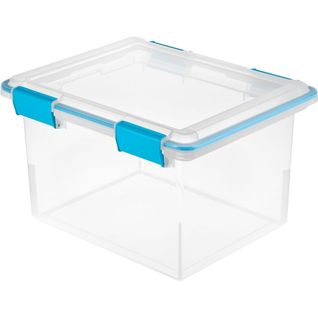 Snap-Tight Clear Activity Storage Box