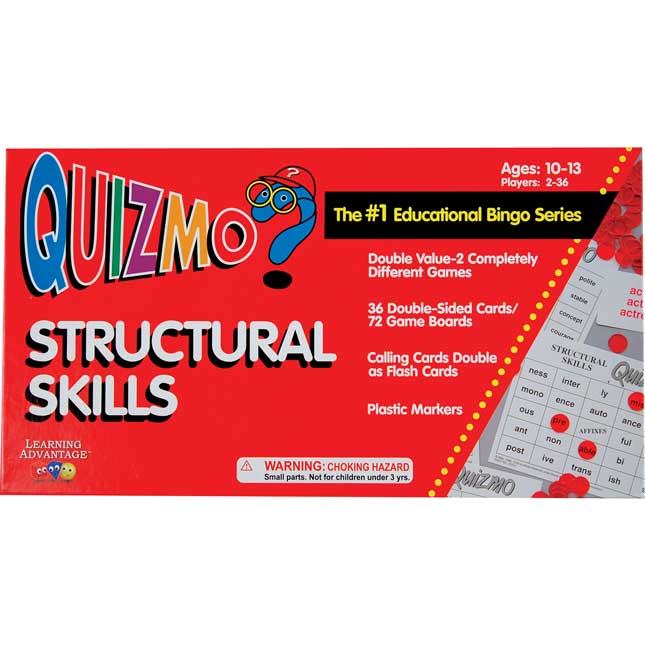 QUIZMO® Structural Skills Game