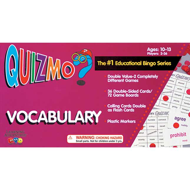 QUIZMO® Vocabulary Game